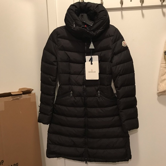 f7a311ad2 Moncler Flammette Puffer Down Coat Jacket Hood 00 Boutique